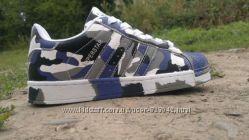 Женские кроссовок Adidas superstar хаки милитари