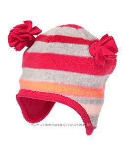 Флисовая шапка 2-3г на хлопковой подкладке crazy8