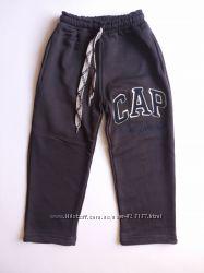 тёплые штаны с начёсом  р. 98-в наличии