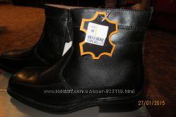 Итальянские мужские ботинки, зима, р-ры43, 45