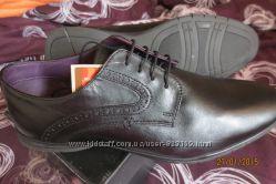 Новые мужские кожаные туфли, пр-во Италия, р-р46