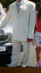 Мужской костюм кремового цвета 48-50р-р