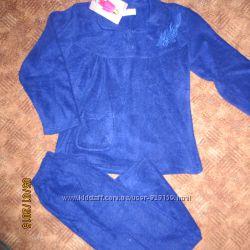 Теплая флисовая пижама на 44-46 р-р