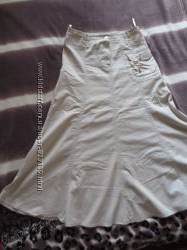 Котоновая юбка годе 46 рр