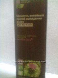 шампунь, сыворотка репейные против выпадения волос