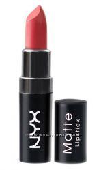 Матовые помады Nyx matte lipstick