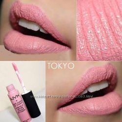 Матовые помады Nyx soft matte lip cream