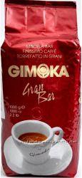 Кава Gimoka Gran Bar 1 кг зерно. Італія.