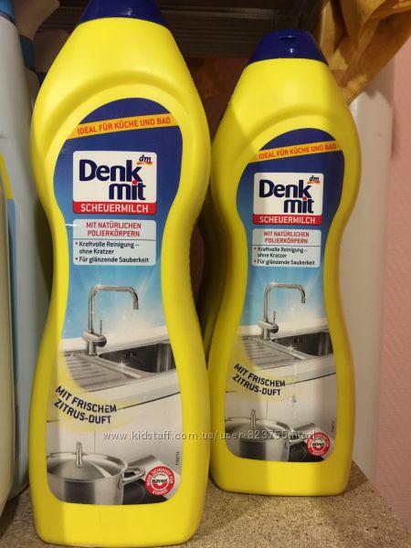 Універсальне молочко для чистки без подряпин Denkmit Scheuermilch