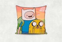 Подушка подарок сувенир на все случаи Время приключений Adventure Time