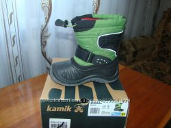 Cапоги Kamik со съемным валенком - размер US 8, EUR 25