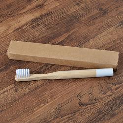 Дитяча бамбукова зубна щітка, середня жорсткість, різні кольори