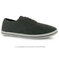 Мокасины бренда Slazenger серого цвета