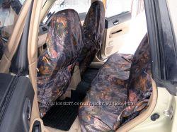 Грязезащитные, универсальные чехлы Маричка. Чехлы на заднее сидение.