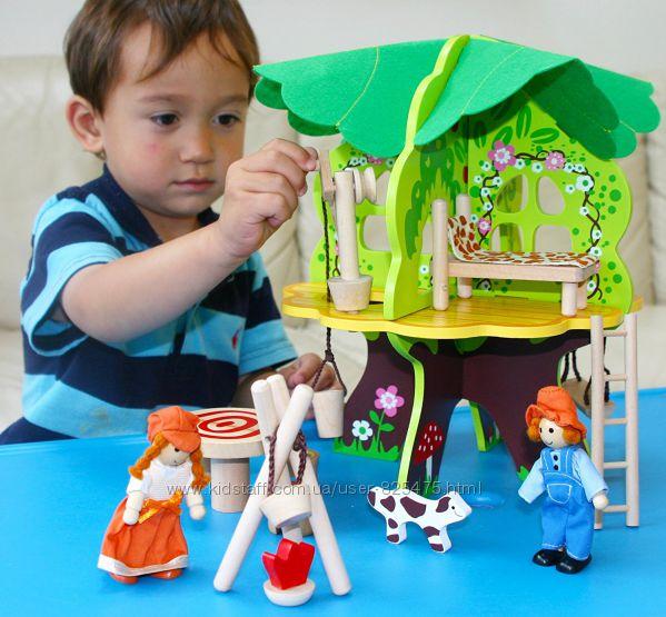 Кукольный домик в ЭКО Стиле