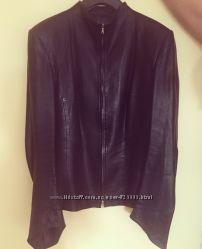 Куртка кожаная р. 36