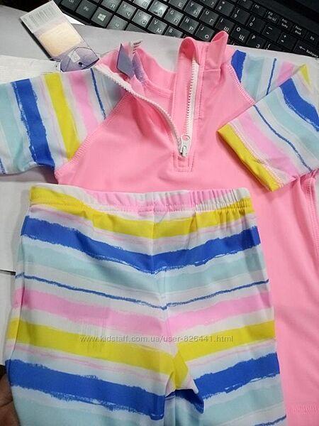 Купальные костюмы костюмы UV 50 рост 74-92 Lupilu Name It