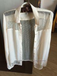 Очень красивая ажурная блузка Esprit