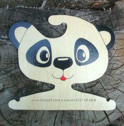 Вешалка Панда плечики ручная работа