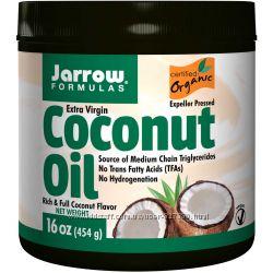 Органическое, кокосовое масло первого отжима, 454 гр. - в наличии