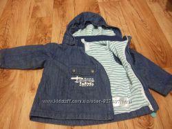 Фирменная куртка 3 в 1 от VERTBAUDET Франция
