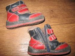 Зимние ботинки на замке и липучках