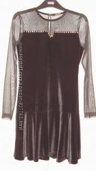 Эффектное платье для бально-спортивных танцев