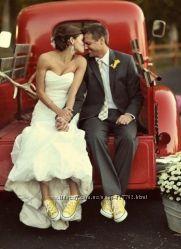 Свадебное платье р. S, L, M