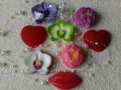 Натуральное мыло Цветы