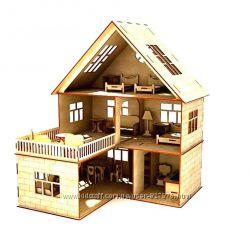 Акция Кукольный дом  мебель . Кукольный домик. Домик для кукол