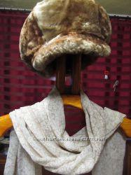 Кепка, шапка натуральный мех. Цена снижена