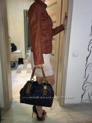 Кожанная куртка женская цена снижена