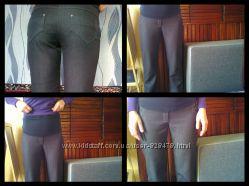 штаны для беременных с начесом
