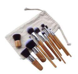 Набор кистей для макияжа 11 шт