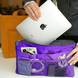 Органайзер в сумку, фиолетовый