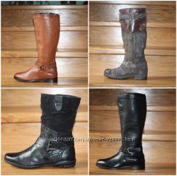 Стоковая женская обувь. Кожа, деми