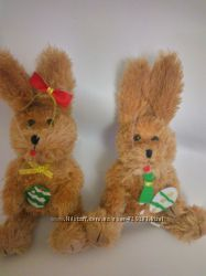 Пасхальный кролик мальчик и девочка