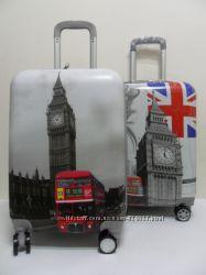 Чемоданы поликарбонат Suitcase - Лондон.
