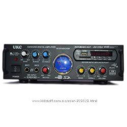 Усилитель звука UKC AV-339A  USB  караоке
