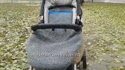 Продам вязанный чехол и покрытие на коляску