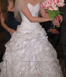 Продам красивое свадебное платье или обменяю