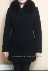 Очень качественное пальто на 46 размер Мех натуральный писец