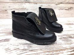 ботинки кожа и замша