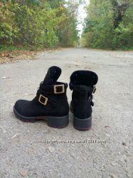 Красивые и стильные зимние ботинки