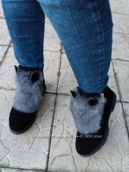 Продам зимние сапоги ботинки
