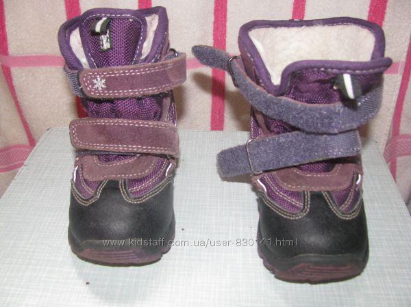 Зимние ботинки b&g  23 размер