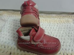 Демисезонные ботинки-туфли 21  размер в отличном состоянии