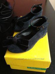 Туфли Benetton для девочки 21 р.