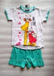 Выбор красивых пижам для девочек на 3-5  лет
