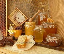 Мёд с домашней пасеки. Лесная акация, липа Киев. Доставка
